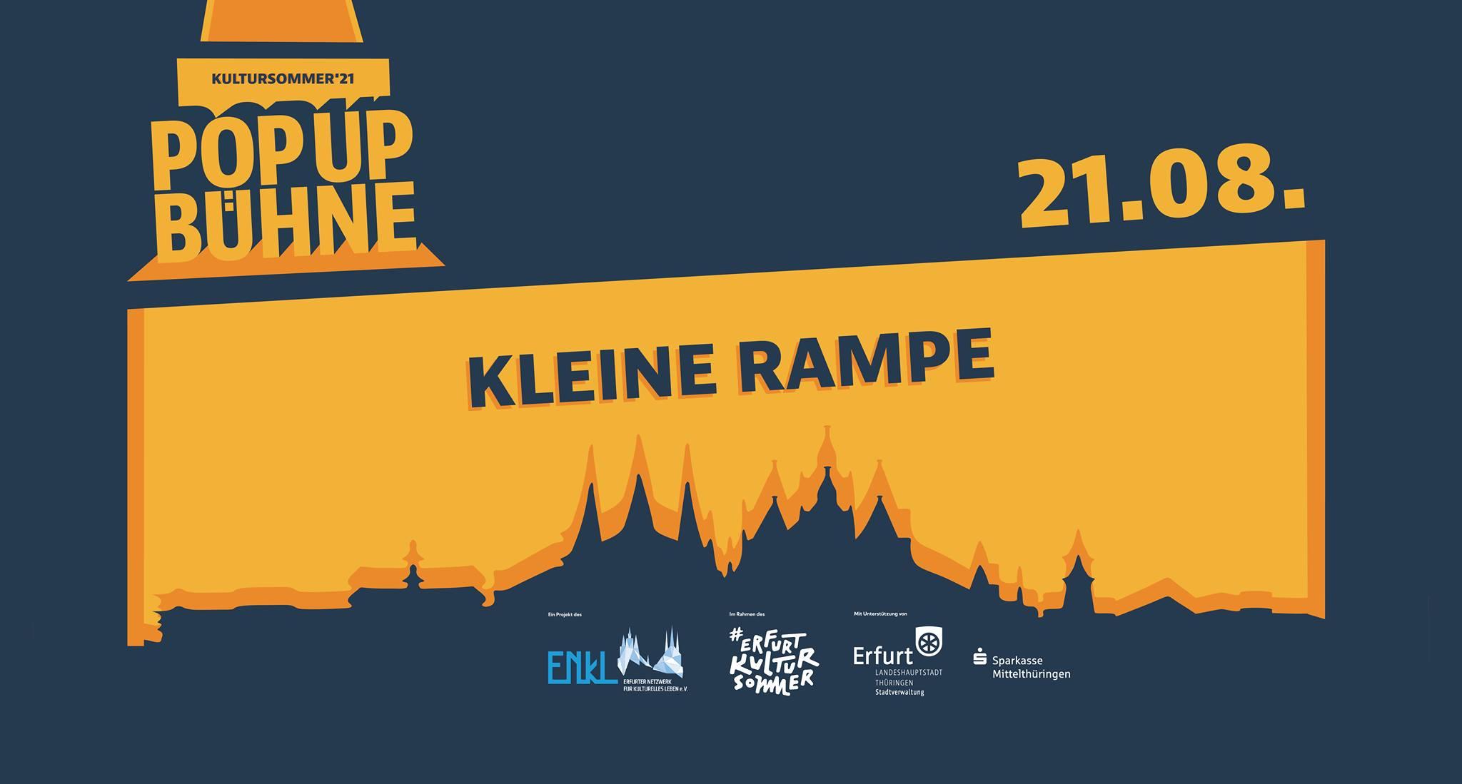Pop Up Bühne Erfurt Kleine Rampe